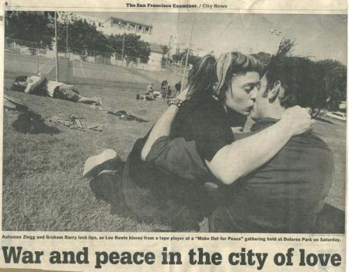 our kisses made the papers. our wedding is going to blow your mind.