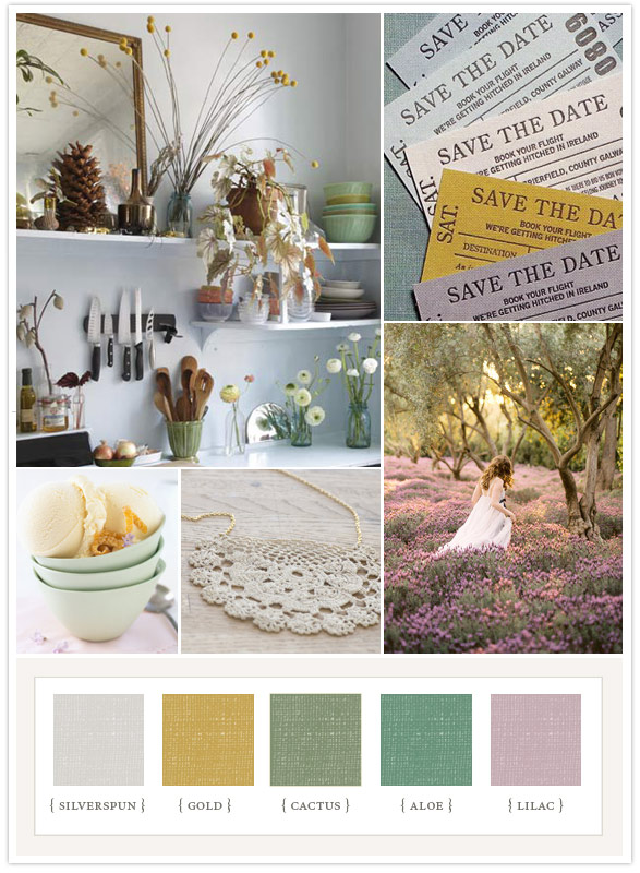 Selecting Wedding Colors From Wheat White to ROYGBVI The Bohemian
