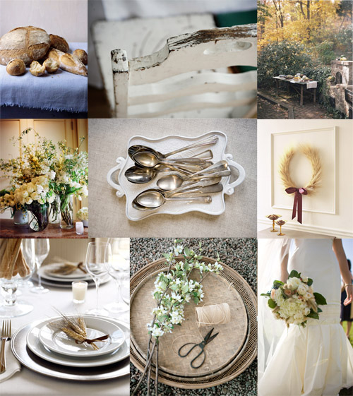 Selecting Wedding Colors From Wheat White to ROYGBVI