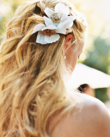 Hairstyles The HalfUp The Bohemian Bride