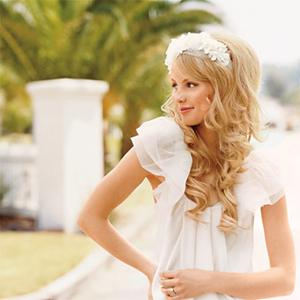 Strange Wedding Hairstyles The Bohemian Bride Short Hairstyles Gunalazisus